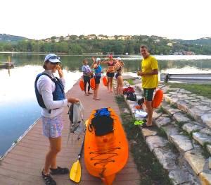 Early morning swim - Lake Austin